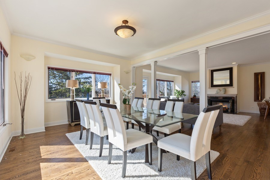 Real Estate Photography - 7726 Sugarbush Lane, Willowbrook, IL, 60527 - Dining Room