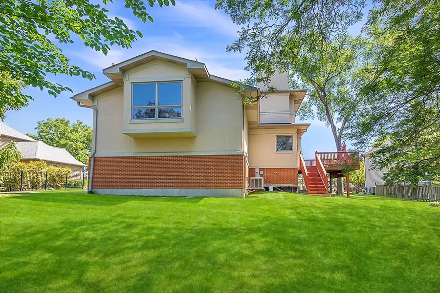 Real Estate Photography - 7726 Sugarbush Lane, Willowbrook, IL, 60527 - Side View