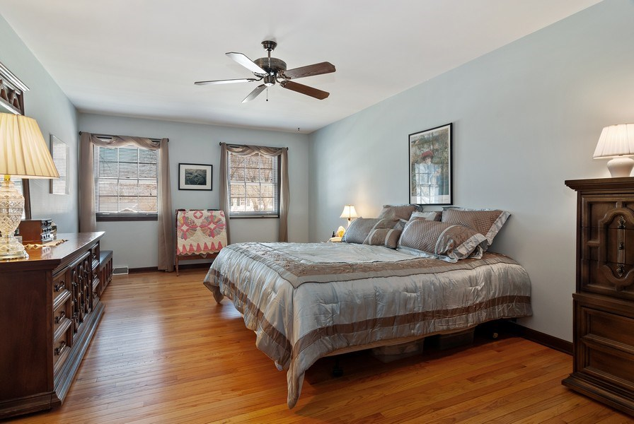 Real Estate Photography - 1302 Brush Hill Circle, Naperville, IL, 60543 - Master Bedroom