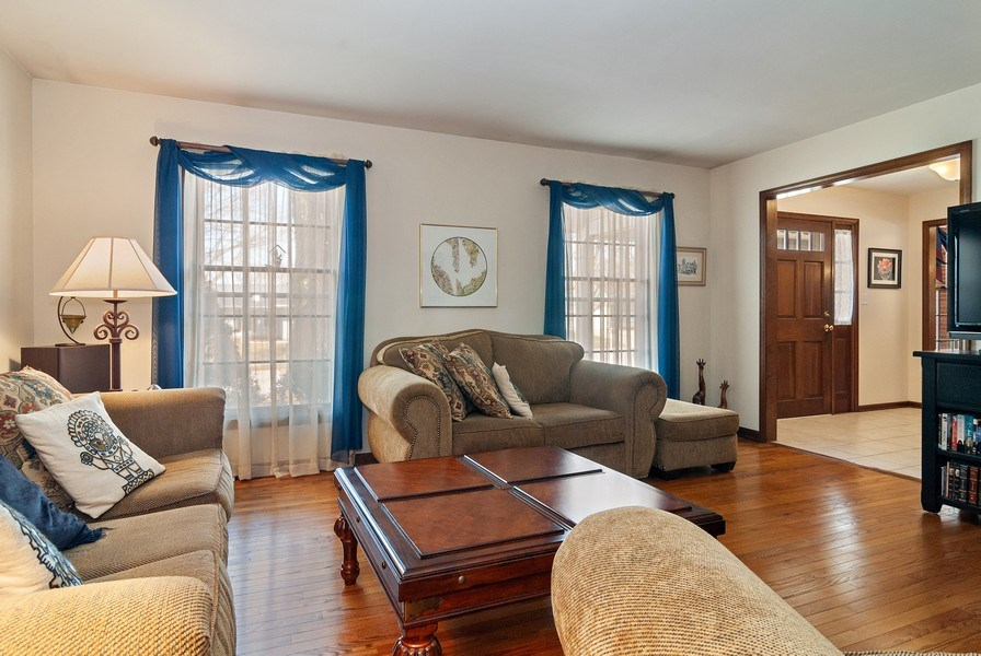 Real Estate Photography - 1302 Brush Hill Circle, Naperville, IL, 60543 - Living Room