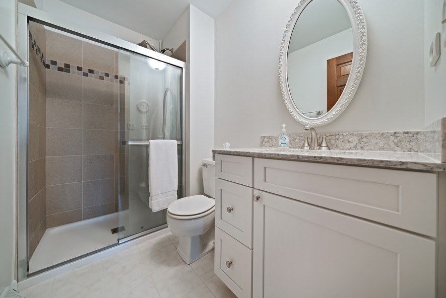 Real Estate Photography - 1302 Brush Hill Circle, Naperville, IL, 60543 - Master Bathroom