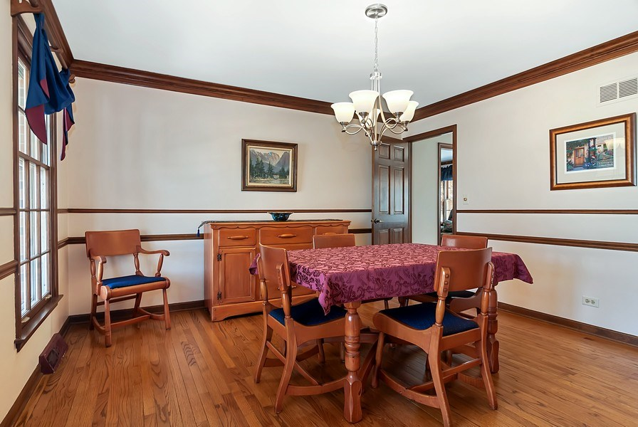 Real Estate Photography - 1302 Brush Hill Circle, Naperville, IL, 60543 - Dining Room