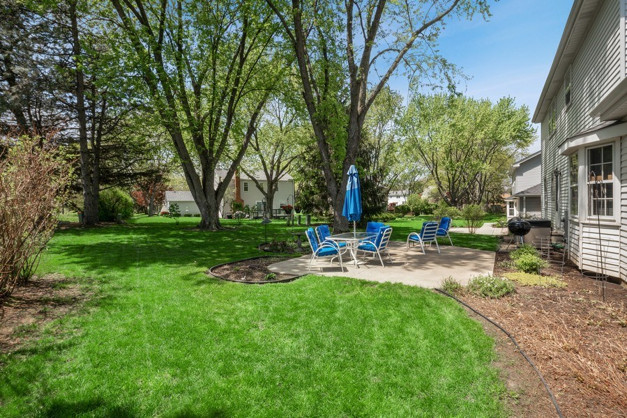 Real Estate Photography - 1302 Brush Hill Circle, Naperville, IL, 60543 - Back Yard