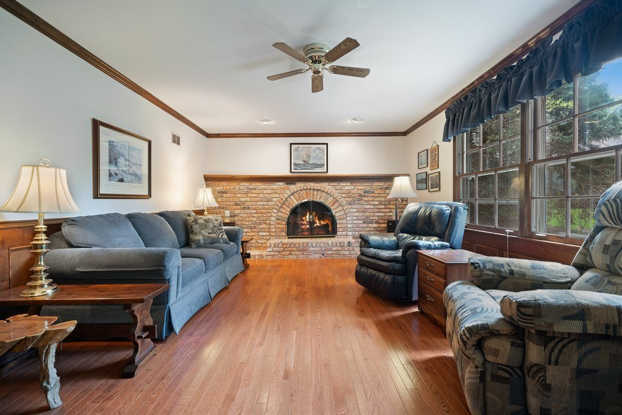 Real Estate Photography - 1302 Brush Hill Circle, Naperville, IL, 60543 - Family Room
