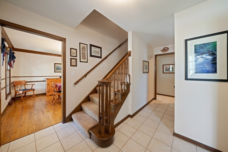 Real Estate Photography - 1302 Brush Hill Circle, Naperville, IL, 60543 - Foyer