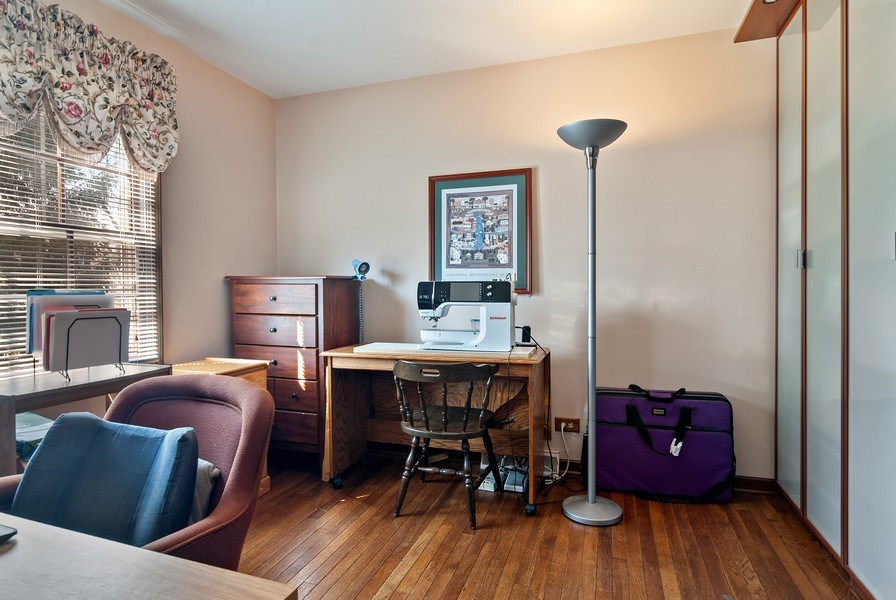 Real Estate Photography - 1302 Brush Hill Circle, Naperville, IL, 60543 - 1st Floor Office