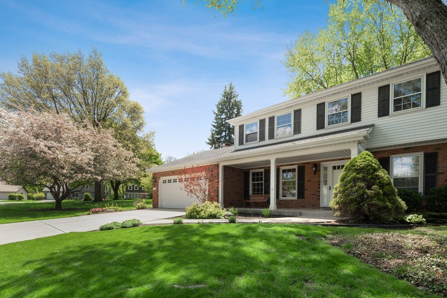 Real Estate Photography - 1302 Brush Hill Circle, Naperville, IL, 60543 - Front View