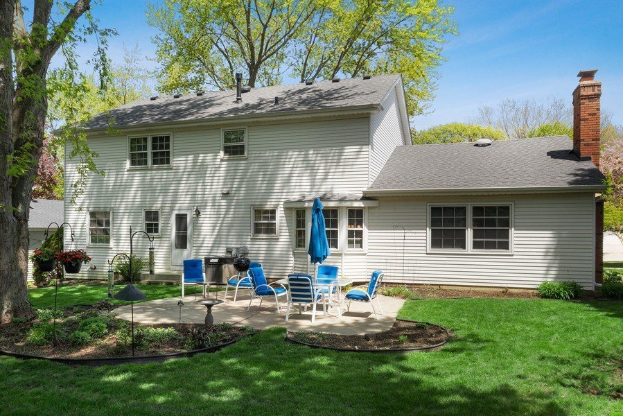 Real Estate Photography - 1302 Brush Hill Circle, Naperville, IL, 60543 - Rear View