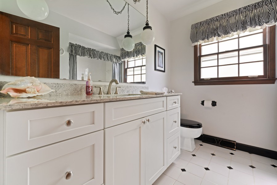 Real Estate Photography - 1302 Brush Hill Circle, Naperville, IL, 60543 - 2nd Bathroom