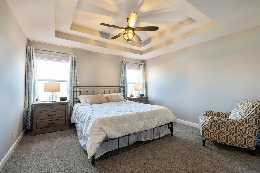 Real Estate Photography - 86 Gala Dr, Mundelein, IL, 60060 - Master Bedroom