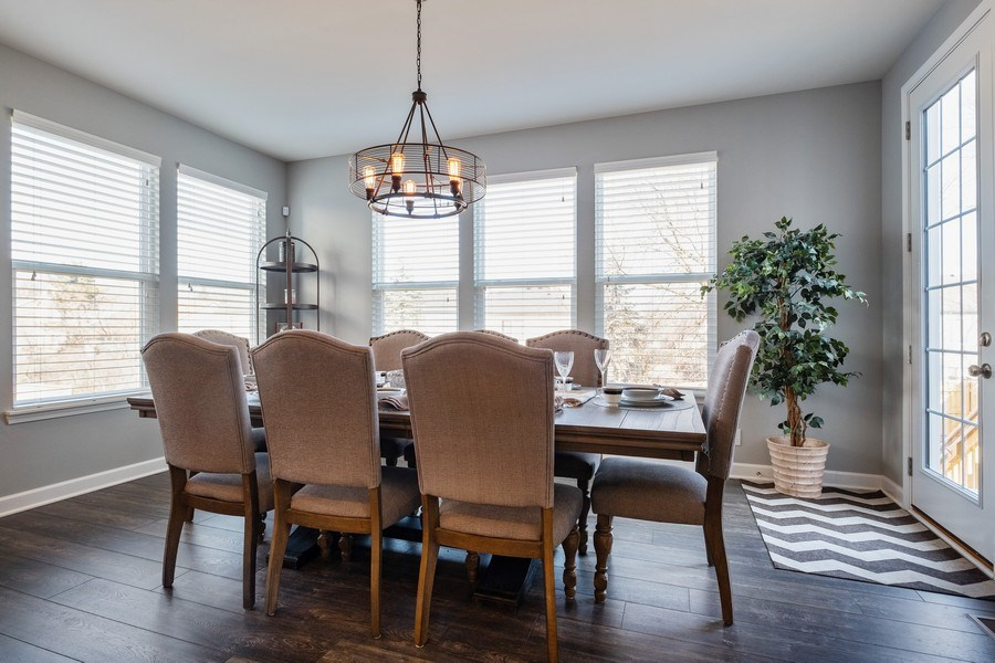 Real Estate Photography - 86 Gala Dr, Mundelein, IL, 60060 - Breakfast Area