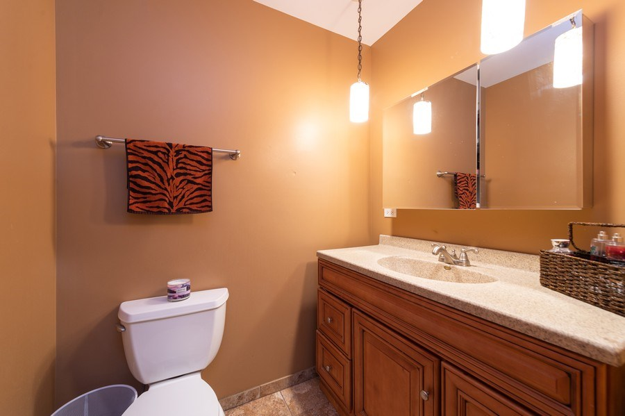 Real Estate Photography - 409 Pioneer, Addison, IL, 60101 - Master Bathroom