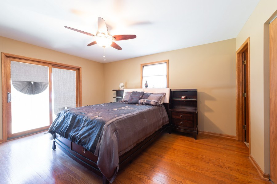 Real Estate Photography - 409 Pioneer, Addison, IL, 60101 - Master Bedroom