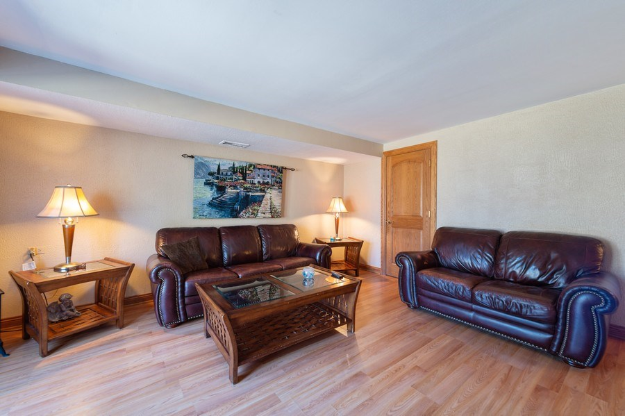 Real Estate Photography - 409 Pioneer, Addison, IL, 60101 - Family Room