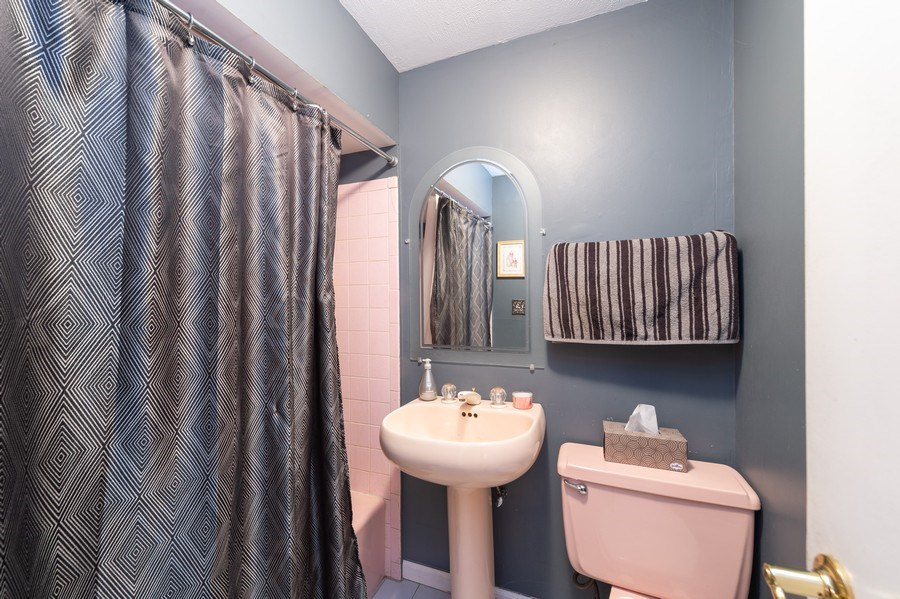Real Estate Photography - 409 Pioneer, Addison, IL, 60101 - Bathroom
