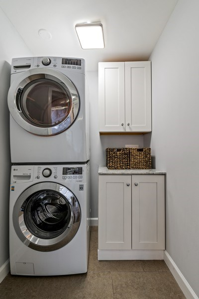 Real Estate Photography - 505 N Lake Shore Drive, Unit 5801, Chicago, IL, 60611 - Laundry Room