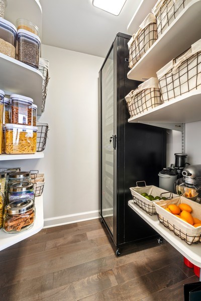Real Estate Photography - 505 N Lake Shore Drive, Unit 5801, Chicago, IL, 60611 - Pantry