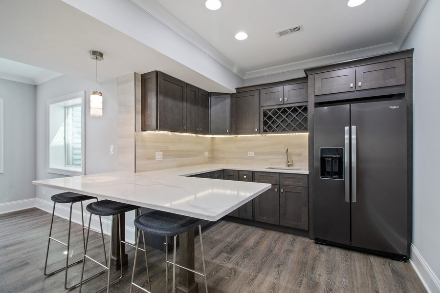 Real Estate Photography - 706 Justina, Hinsdale, IL, 60521 - Kitchen