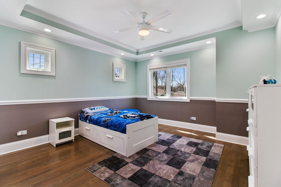 Real Estate Photography - 706 Justina, Hinsdale, IL, 60521 - Bedroom