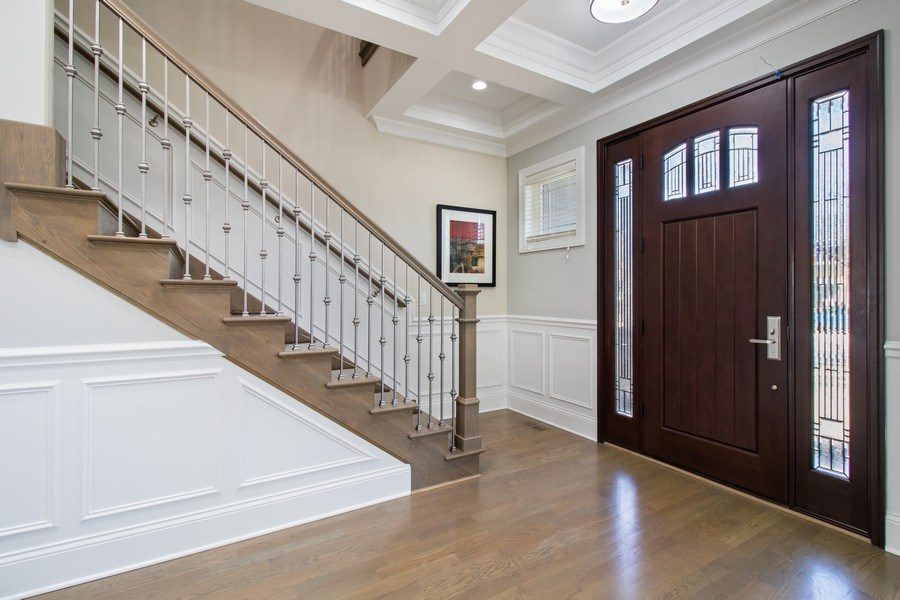 Real Estate Photography - 706 Justina, Hinsdale, IL, 60521 - Foyer