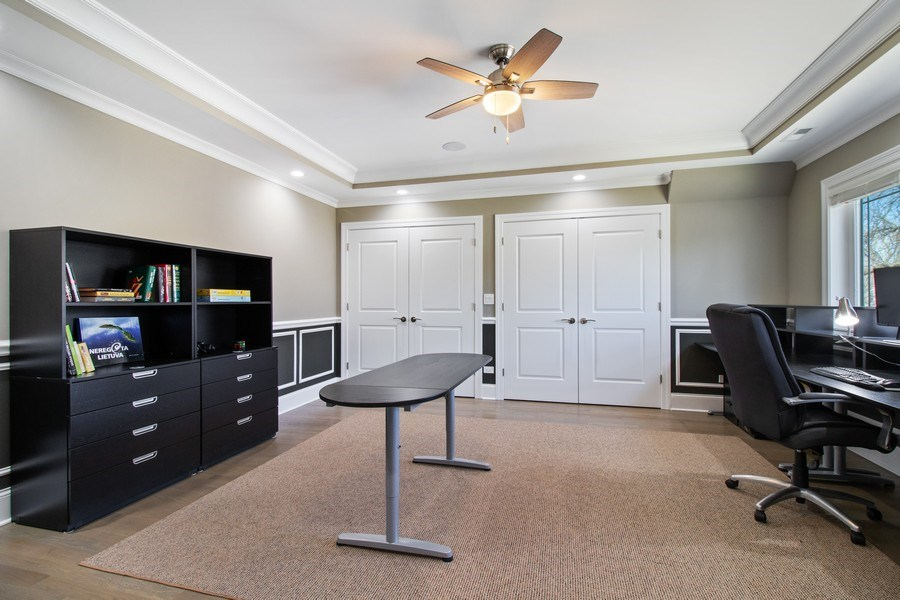 Real Estate Photography - 706 Justina, Hinsdale, IL, 60521 - Office