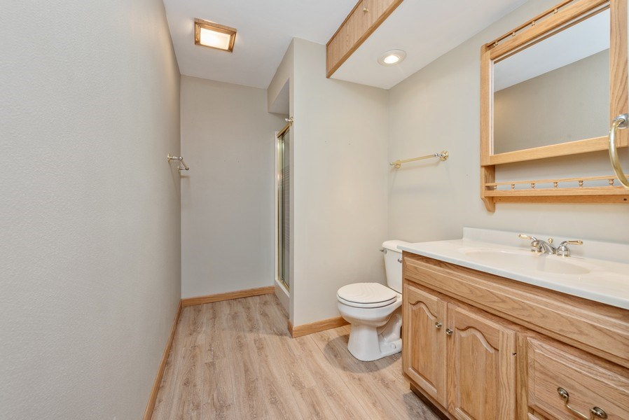 Real Estate Photography - W6588 Mine Road, Iron Ridge, WI, 53035 - Bathroom