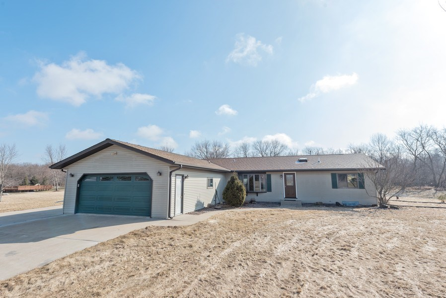 Real Estate Photography - W6588 Mine Road, Iron Ridge, WI, 53035 - Front View