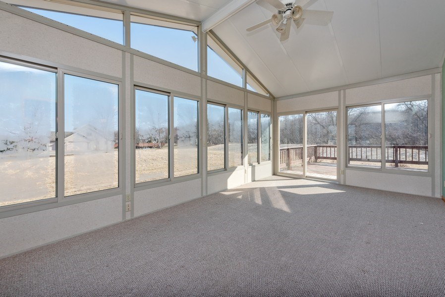 Real Estate Photography - W6588 Mine Road, Iron Ridge, WI, 53035 - Patio