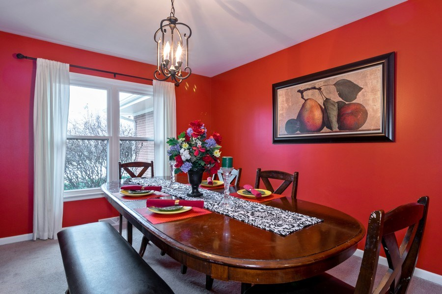 Real Estate Photography - 172 Cranston Court, Glen Ellyn, IL, 60137 - Dining Room