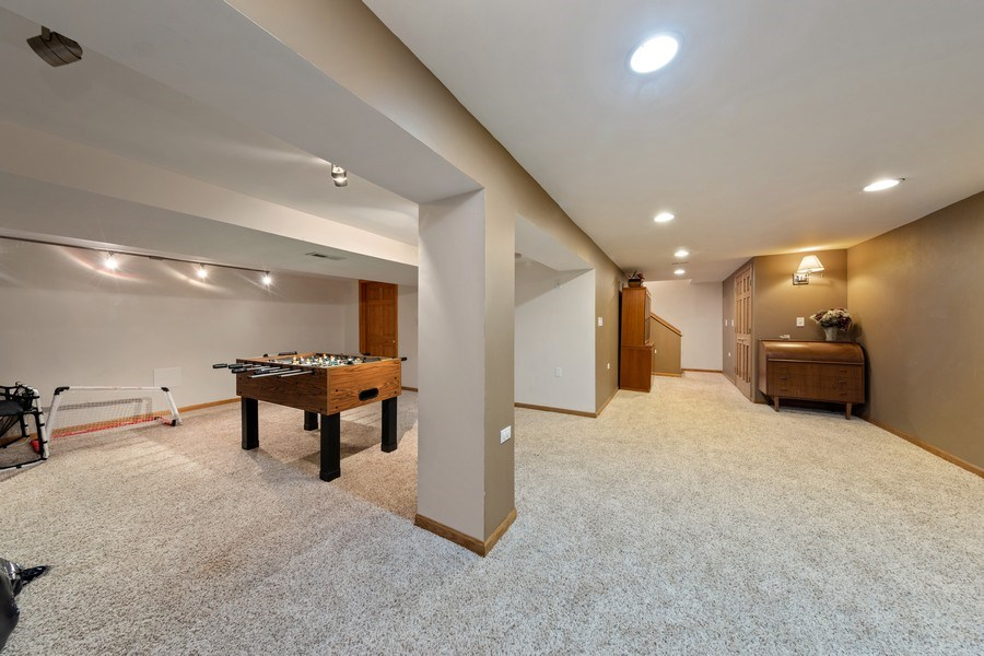 Real Estate Photography - 4980 Thornbark Dr., Hoffman Estates, IL, 60010 - Lower Level