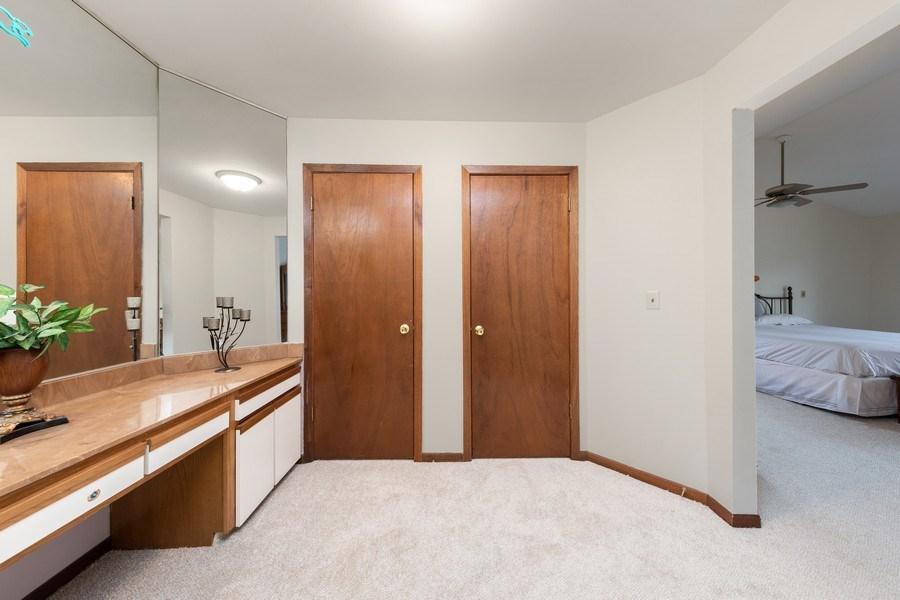 Real Estate Photography - 4980 Thornbark Dr., Hoffman Estates, IL, 60010 - Master Bedroom