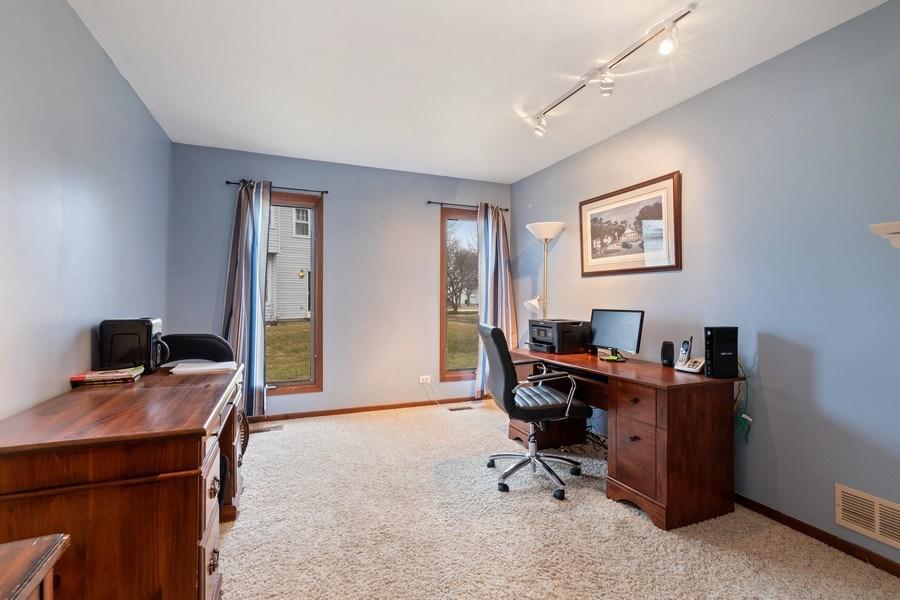 Real Estate Photography - 4980 Thornbark Dr., Hoffman Estates, IL, 60010 - Office