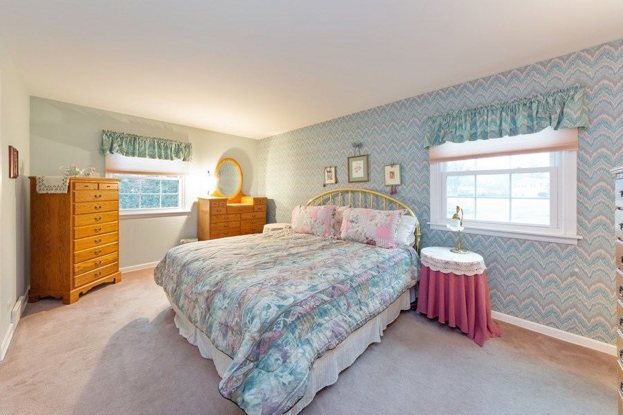 Real Estate Photography - 317 Canterbury Ln, Inverness, IL, 60010 - Master Bedroom