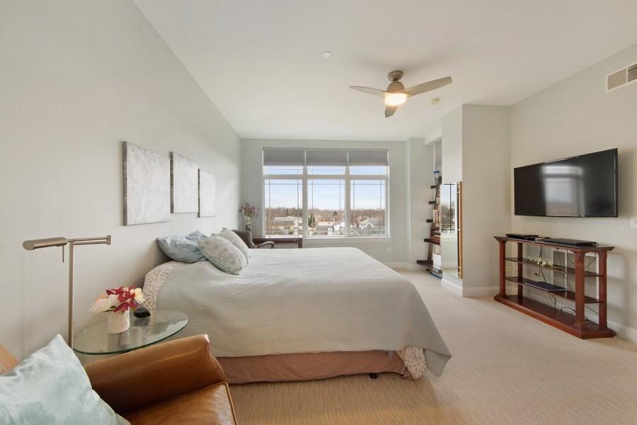 Real Estate Photography - 115 PRAIRIE PARK DR., UNIT 306, WHEELING, IL, 60090 - Master Bedroom