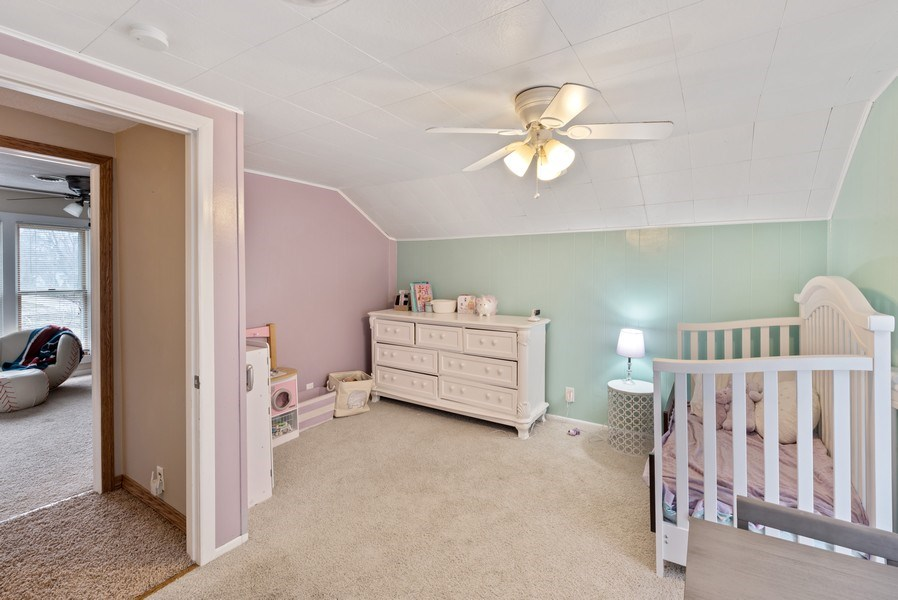 Real Estate Photography - 204 N Mill St, Aroma Park, IL, 60910 - 2nd Bedroom