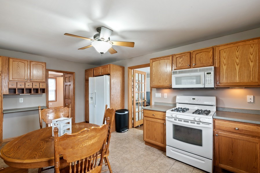 Real Estate Photography - 204 N Mill St, Aroma Park, IL, 60910 - Kitchen