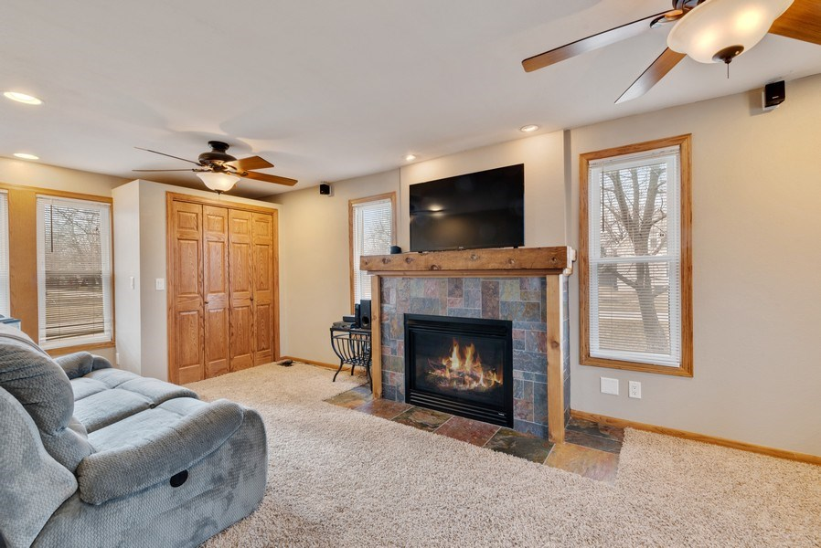 Real Estate Photography - 204 N Mill St, Aroma Park, IL, 60910 - Family Room