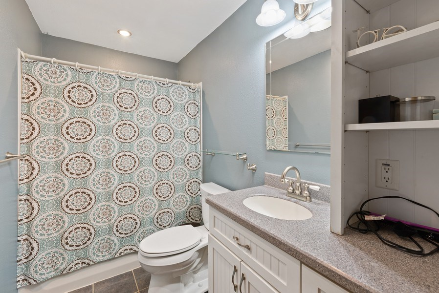 Real Estate Photography - 204 N Mill St, Aroma Park, IL, 60910 - Bathroom