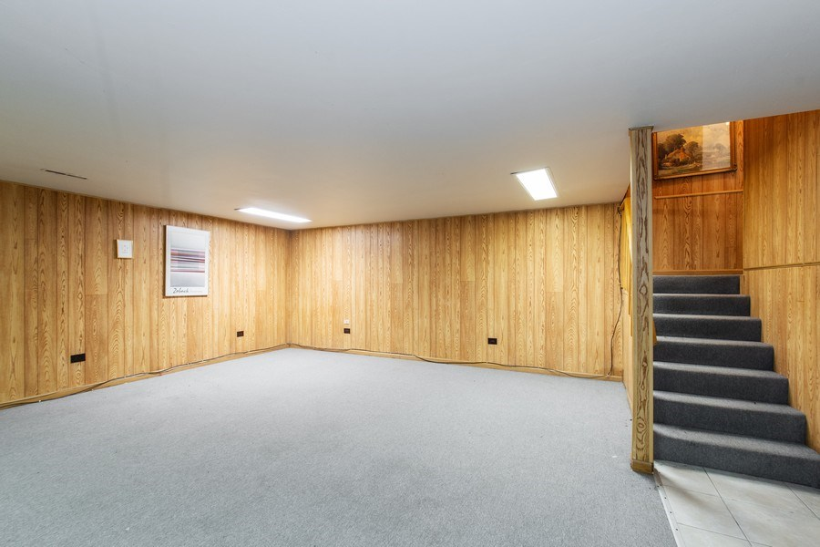 Real Estate Photography - 890 Swan, Deerfield, IL, 60015 - Basement