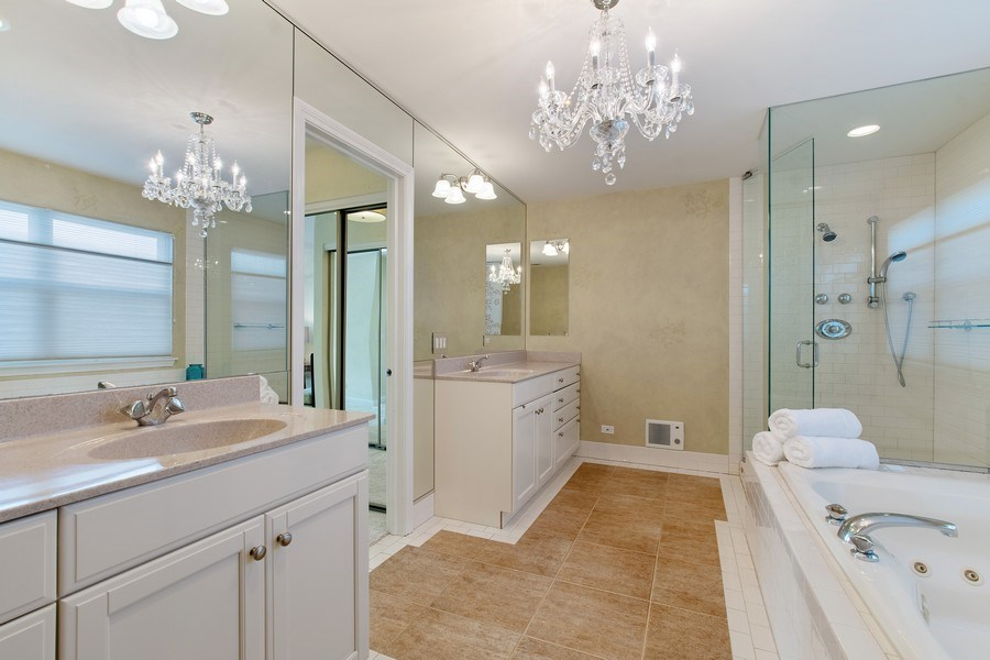 Real Estate Photography - 775 Endicott Rd, Highwood, IL, 60035 - Master Bathroom