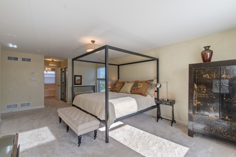 Real Estate Photography - 775 Endicott Rd, Highwood, IL, 60035 - Master Bedroom