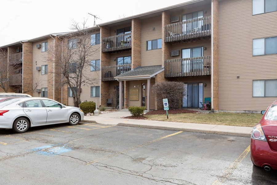 Real Estate Photography - 639 Virginia Ave #120, Crystal Lake, IL, 60014 - Rear View