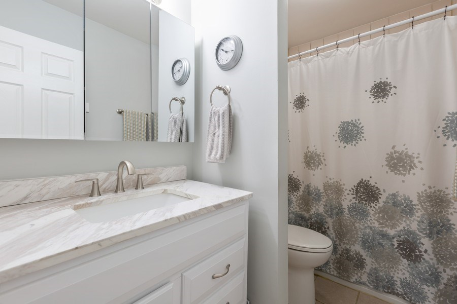 Real Estate Photography - 639 Virginia Ave #120, Crystal Lake, IL, 60014 - 2nd Bathroom