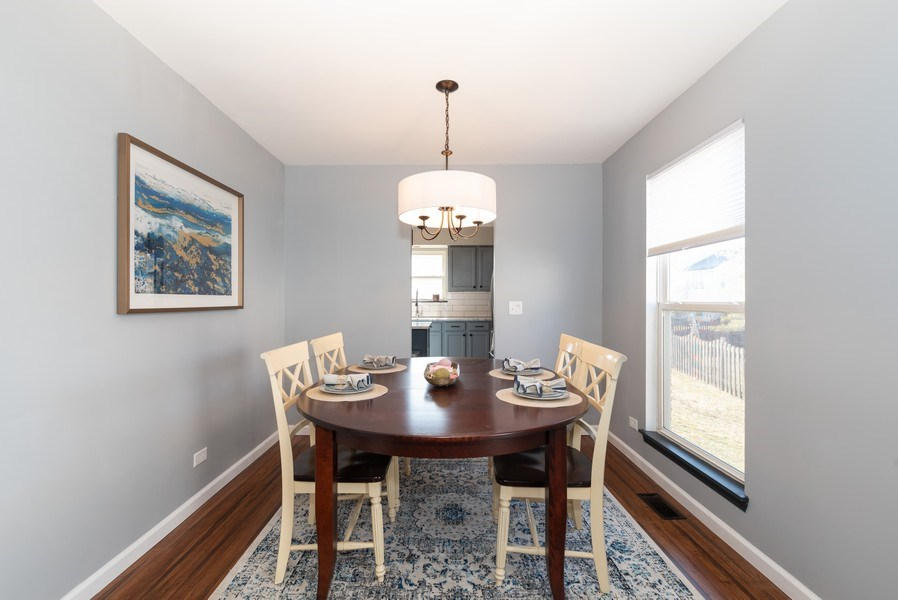 Real Estate Photography - 2405 Meadowsedge Ln, Carpentersville, IL, 60142 - Dining Room