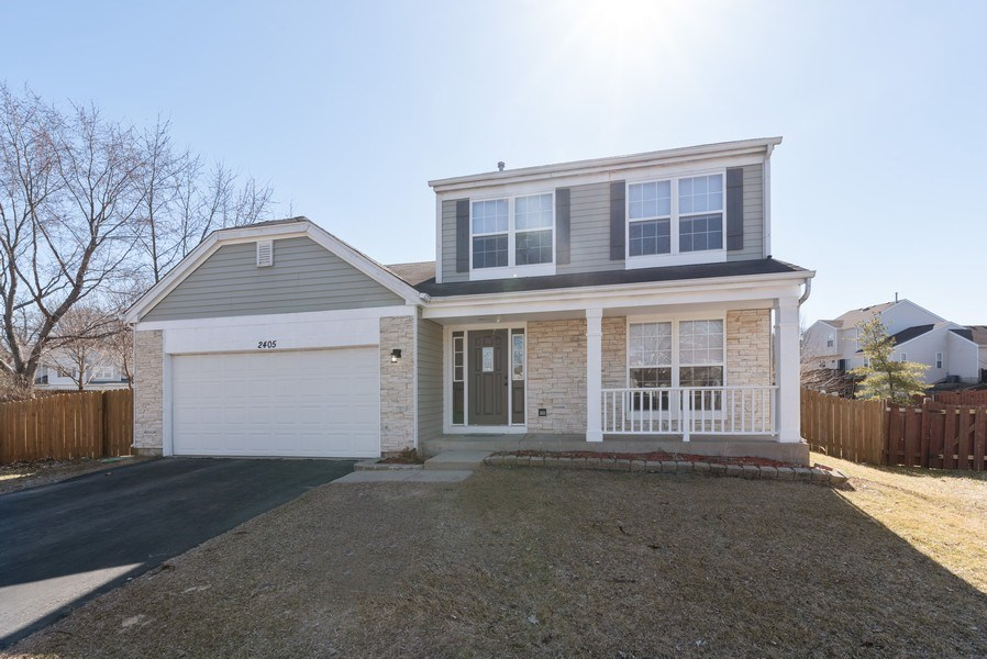 Real Estate Photography - 2405 Meadowsedge Ln, Carpentersville, IL, 60142 - Front View