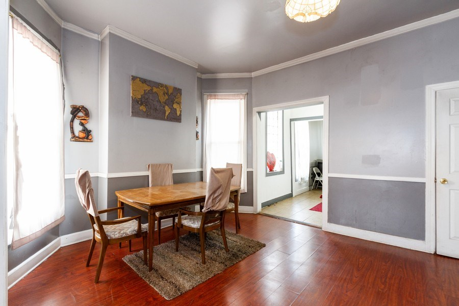 Real Estate Photography - 6657 S Drexel, Chicago, IL, 60637 - Dining Room
