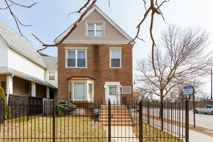 Real Estate Photography - 6657 S Drexel, Chicago, IL, 60637 - Front View