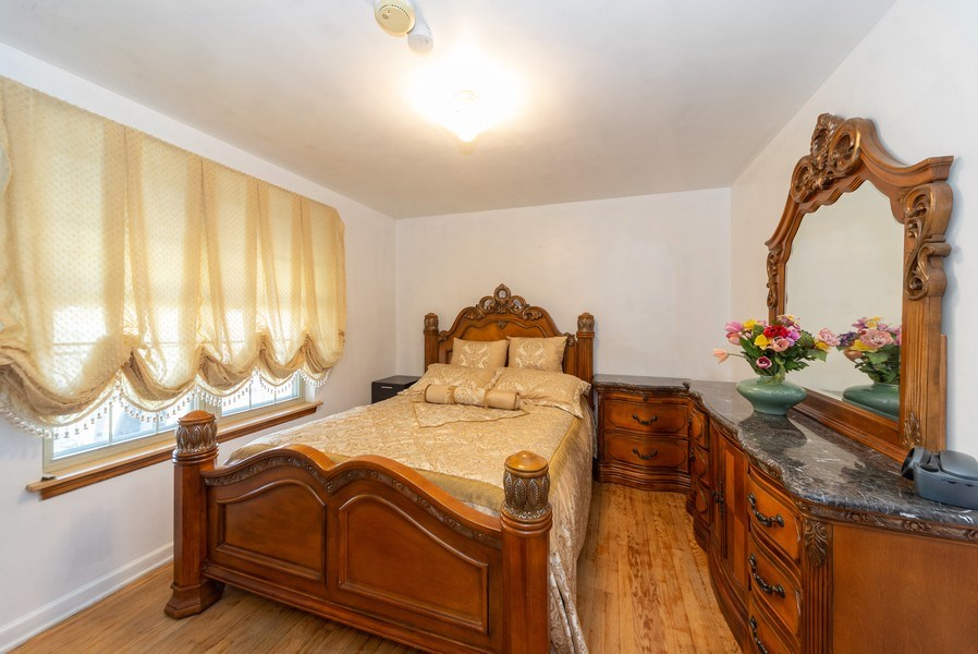 Real Estate Photography - 2924 Lincoln St, Franklin Park, IL, 60131 - Master Bedroom