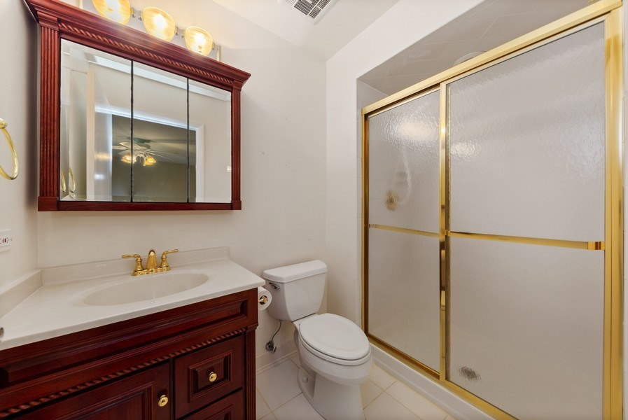 Real Estate Photography - 3811 Candlewood Ct, Downers Grove, IL, 60515 - Master Bathroom