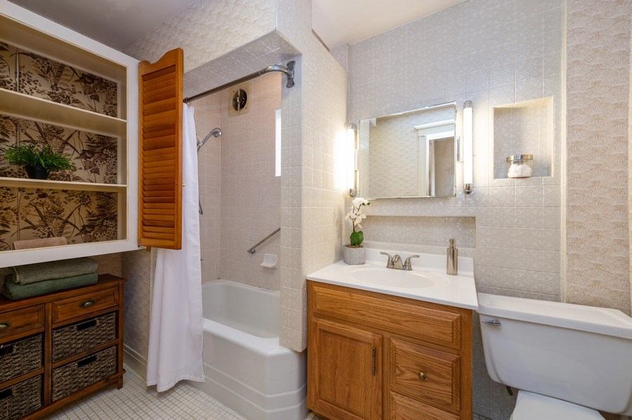 Real Estate Photography - 2549 W Logan Blvd, Chicago, IL, 60647 - Master Bathroom